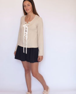 Pull à lacets - CHARLOTTE